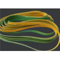 Quality MK9 Tobacco Machinery Spare Parts Flat Power Transmission Belts Green Yellow for sale