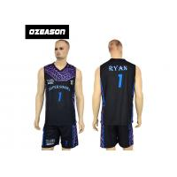 Quality High Quality Sublimation Printing Reversible Training Basketball Uniform For Boys for sale