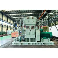 Quality Hydrogen Compressor Series ZW-95.6/30 ZW-71/30 Vertical,four row,three stage casting steel grey colour for sale