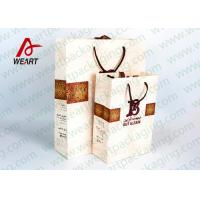 Quality Medium / Small Gift Package Bag Surface LOGO Printing  With Cotton Hsndle for sale
