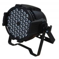 Quality 54*3W LED Par Cans IP20 , Lightweight 54pcs RGBW LEDs DJ light for sale