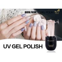 Quality Durable Three Step Gel Fingernail Polish , 1KG Bulk Soak Off Gel Nail Polish for sale