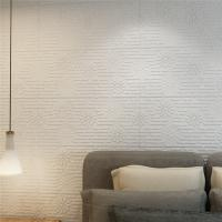 Self Adhesive 3d Pe Foam Brick Wall Panels / Wall Covering / Interior Wall Board for sale