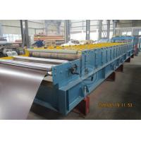 Quality 235Mpa Feeding Coil 1219mm Width Metal Tile Roll Forming Machine With Stacking Use Panasonic PLC for sale