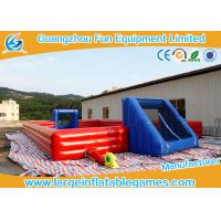 Quality Large Inflatable Outdoor Soccer Field / Inflatable Football Court for sale