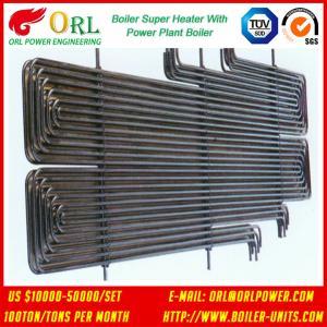 Buy 80MW Petroleum Industry CFB Boiler Superheater OEM TUV Superheater In Boiler at wholesale prices