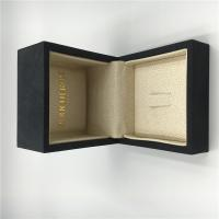 China Boucheron Ring Luxury Jewelry Box Fine Fabric With Customized Size / Color on sale