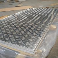 Quality Corrosion Resistance Aluminum Diamond Plate Sheets Anti Skid Flooring Good Forming Performance for sale