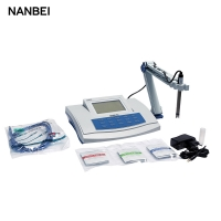 Buy cheap high accuracy benchtop ph meter with LCD display for watre use from wholesalers