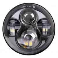 Quality 7 Inch Harley Davidson Daymaker Headlight  , Led Daymaker Motorcycle Headlight for sale