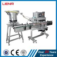 Quality Linear capping machine with bottles sensor clamping system automatic bottle jar container capper equipment custom cappin for sale