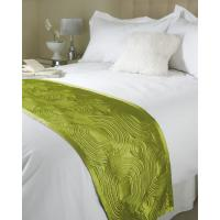 Quality Luxury Hotel 100% Polyester Bedspread for sale