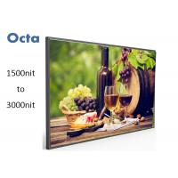 Quality Outdoor High Brightness LCD Display , 55 Inch High Brightness LCD Monitor for sale
