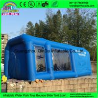 Quality QinDa inflatable paint booth,inflatable spray booth,inflatable car spray/paint tent for sale for sale