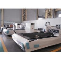 Quality 2000W CNC Fiber Laser Cutting Machine For Carbon Steel / Galvanized Steel Sheet for sale