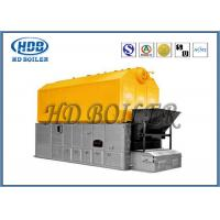 Quality Chain Grate Industrial Biomass Fuel Boiler / Chamber Combustion Boiler Customized for sale