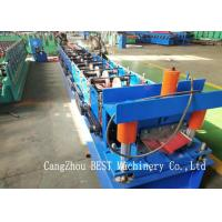 Quality Ridge Cap Cold Making Roll Forming Machine With PLC Control 380V50HZ for sale