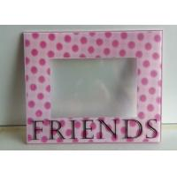 Quality Decorative 3D Wall Mounted Acrylic Photo Frames With Magnet And Screen Print for sale