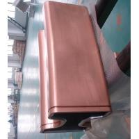 Dia 850mm Round tube And Bloom Sized Copper Mould Tube For CCM for sale