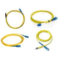 China Communication Fiber Optic Simplex Patch Cord St Connector Fiber Optic Cable on sale