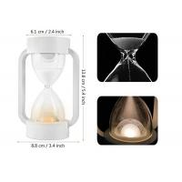 Quality ABS Materials USB Night Light Warm 10 Minutes Hourglass 7 Colors For Baby Room for sale