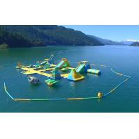 Giant Inflatable Water Park Games / Harrison Exciting Aqua Park Equipment For