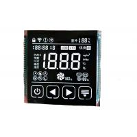 Buy cheap 3.5V VA LCD Display Transmissive Monochrome Numeric Screen Seven Segment Digit from wholesalers