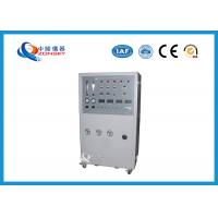 Quality Movable Flammability Testing Equipment / Cable Integrity Combustion Machine for sale