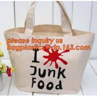 Custom logo cheap creamy white canvas cotton recycle bag, Wholesale nature recycled shopping cotton bag bagease plastics for sale
