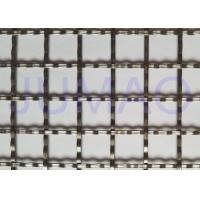 Storage Cabinet Screen Mesh , Polished Brass Decorative Mesh For Cabinet Doors