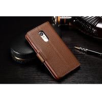 Quality Drop Protection Redmi Note 4 Leather Case , Vintage No Scratch Redmi Note 4 Flip Cover for sale