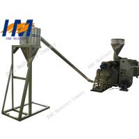 China 65kW Plastic Granules Making Machine Double Screw For PP PE Recycling Film on sale