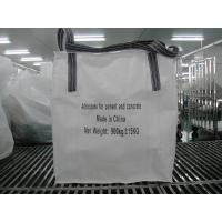Buy cheap Cement / Concrete polypropylene sand 1 Ton Bulk Bags / Flexible Intermediate from wholesalers
