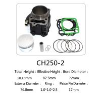 Quality Honda Motorcycle Cylinder Kit  , Water Cooled Cylinder Block Kit CH250 for sale