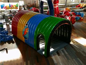 China Customized Advertising PVC Airtight 6m Inflatable Tunnel Tent on sale