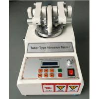 Buy Taber Abrasion Tester ASTM D7255 Leather Rotary Abraser For Wear Test at wholesale prices