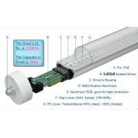 Quality 1800LM Epistar 4 Foot T8 LED Tube Lights 19W Fa8 Single Pin , LED T8 Replacement Tubes for sale
