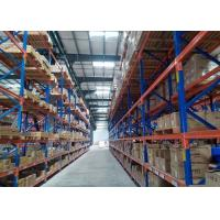 Quality Cold Roll Steel Pallet Storage  Racks System C02 Welded / Secured By 2 Safety Pins for sale