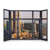 China Soundproof Glass Profile Aluminium Window And Door Windows And Doors Standard Size on sale