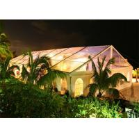 China Rainproof Standard Size Clear Party Event Tents For Outdoor Commercial Activities on sale
