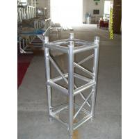 Buy Outdoor Party Aluminum Stage Truss Square Shape Silver / Black 400mm X 400mm at wholesale prices