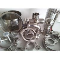 Quality 304 316 Stainless Steel Pipe Fittings For Food Industry / Chemistry Industry for sale
