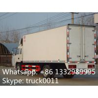 Quality factory selling 4x2 35cbm 10ton jac refrigerator box truck, high quality and competitive price 5-8ton refrigerated tuck for sale