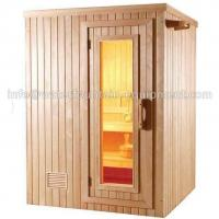 Quality 4 People Dry Steam Room Equipment Durable White Pine Wood With Sauna Accessories for sale