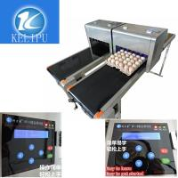 Quality High Speed Food Industry Egg Stamping Machine With USB 2.0 External Interface for sale