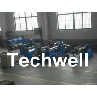 Quality Carbon steel, GI, Color Steel Simple Slitting Machine Line With Scrap Rewind Device for sale