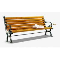Quality Anti Corrosion Bamboo Park Bench Easy Cleaning Antique Style With Long Using Life for sale