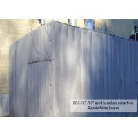 Quality Temporary Construction Noise Barriers sound muffing panels 20dB 30dB 40dB Noise Insulation for sale