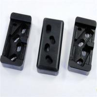 Quality Black Nylon Machined Parts , Plastic Injection Moulding Machine Parts for sale