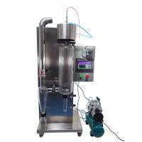 Quality Small Spray Dryer 1.0-1.5 S Dryer Time 30-2000ml/H Speed Of Squirmy Pump for sale
